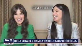 Camila Cabello, Idina Menzel talk new 'Cinderella' film