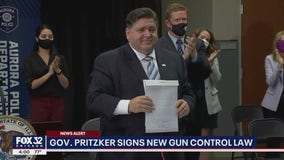 Pritzker signs new law aimed to prevent gun violence in Illinois
