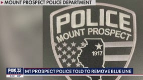 Mount Prospect police ordered to remove thin blue line from uniforms