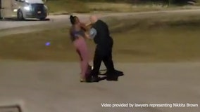 Chicago police officer who grabbed Black woman walking her dog is placed on desk duty