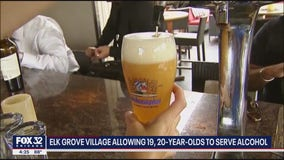 Elk Grove Village to begin allowing underage workers to serve alcohol