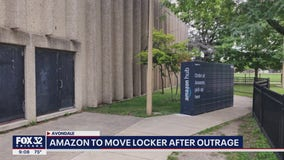 Avondale residents upset by Amazon locker installed in the middle of sidewalk
