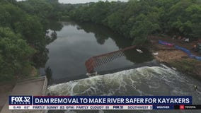 Will County removing Hammel Woods Dam on the DuPage River