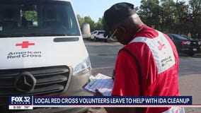 Chicago area Red Cross volunteers heading down south after Hurricane Ida