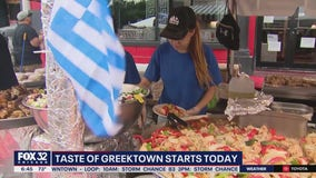 Taste of Greektown Festival brings Mediterranean fare to Chicago this weekend