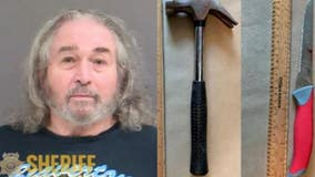 Man accused of bashing female roommate in head with hammer, stabbing her