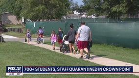 700+ Crown Point students put into quarantine; school district now requiring masks