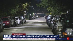 Rideshare drivers tased, carjacked hours apart across Chicago