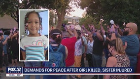 Chicago community gathers to remember 7-year-old girl shot and killed