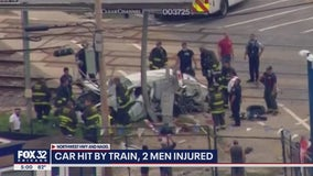 1 dead after Metra UP-NW train strikes vehicle in Norwood Park