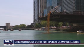 Chicago Ducky Derby makes quite the splash downtown
