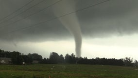 Tornadoes knock down trees, cause structural damage as severe thunderstorms hit Chicago area