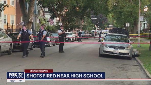81-year-old shot near Chicago high school