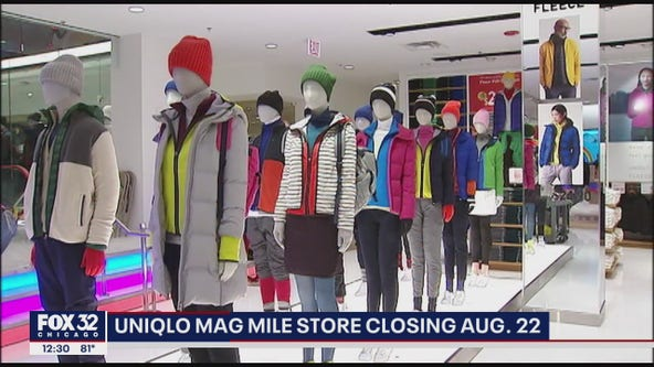Uniqlo Mag Mile store closing on August 22