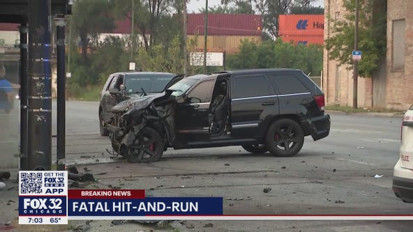 1 dead, 1 in critical condition following Englewood hit-and-run crash