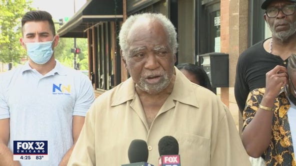 Illinois Congressman Danny Davis pleads for communities of color to get vaccinated