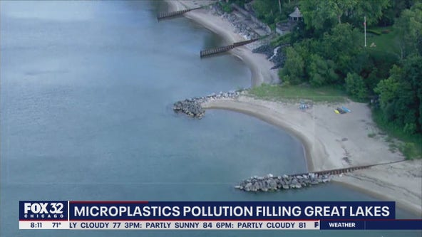 Microplastics pollution taking over the Great Lakes