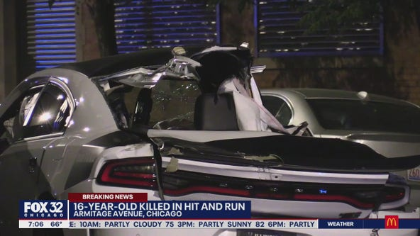 16-year-old girl killed in hit-and-run crash on Northwest Side