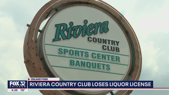 Orland Park revokes liquor license for country club after man is found sleeping in the building