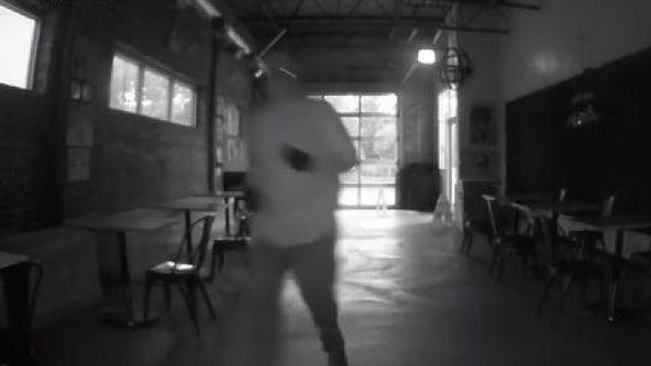 South Side coffee shop posts video of 'coward' burglar