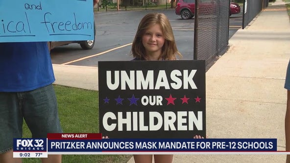 'You didn't care for Lollapalooza': Critics hit Pritzker after mask mandate for schools