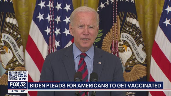 'This is a tragedy': Biden pleads for all Americans to get vaccinated