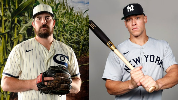 MLB unveils custom uniforms for Field of Dreams game between White Sox, Yankees
