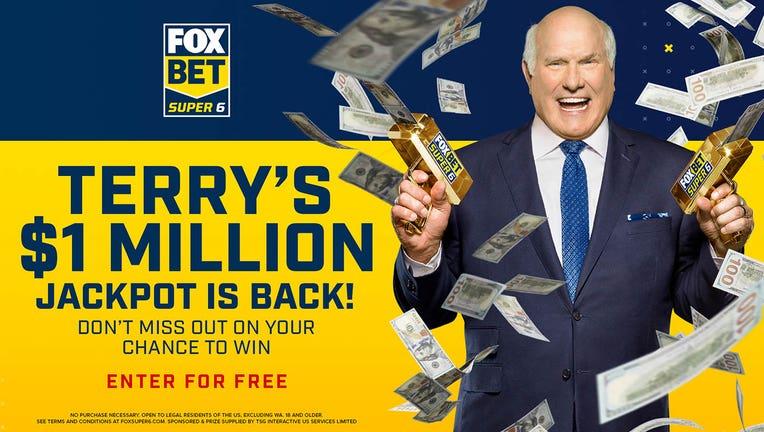 FOX Bet Super 6 Terry's Million Jackpot