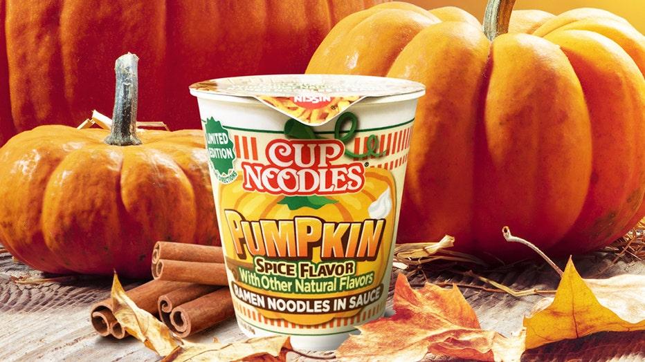 Cup Noodles Pumpkin Spice - 150 dpi