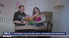 Illinois offering three months of free childcare to some parents