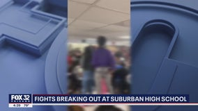 Sheer chaos: Suburban high school dealing with student fights, packed classrooms, bus shortage