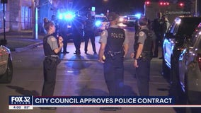 Chicago City Council approves new contract for CPD