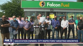 Arab and Asian American gas station owners claim Chicago inspectors target minority-owned businesses