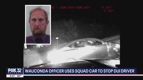 Video shows Wauconda officer using squad car to stop DUI suspect