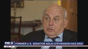 Former Illinois Senator Adlai Stevenson III dead at 90