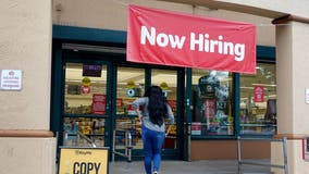 US unemployment claims tick up from near a pandemic low
