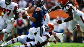 Cleveland Browns sack Chicago Bears rookie quarterback Justin Fields nine times in 26-6 win