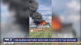 Beecher church fire: 150 years of history gone in a matter of hours