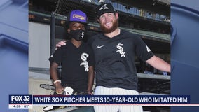 10-year-old White Sox fan goes viral for Craig Kimbrel imitation, gets to meet star pitcher