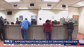 Appointments required at Chicago-area DMVs starting this week