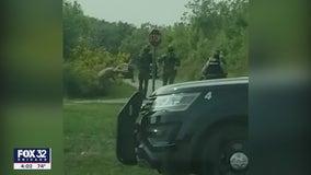 WATCH: Eyewitness captures arrest of I-57 gunman on video