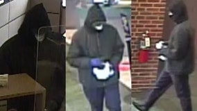 Naperville police looking for bank robber who struck a BMO Harris