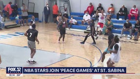 Chicago Peace Games tournament brings young men together with NBA stars, former college players