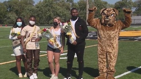 Suburban schools turn sports fields into homecoming dance floors for COVID safety