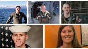 US Navy IDs 5 sailors killed in helicopter crash near San Diego