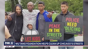 Wu-Tang Clan foundation helps cleanup Chicago streets