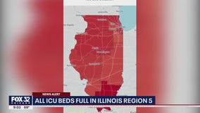 Illinois health officials: No ICU beds available in Region 5 downstate