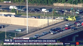 Edens Expressway shooting: Southbound lanes near Montrose reopen after reported shooting