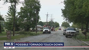 Minooka residents report tornado sighting amid strong storms