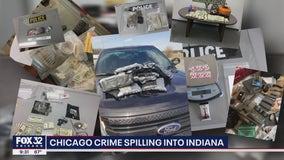 Chicago crime, violence spilling into Indiana